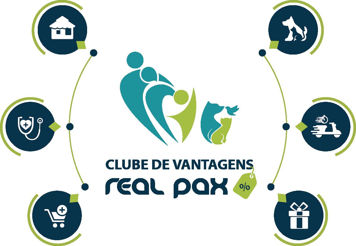LOGO CLUBE DE VANTAGENS REAL PAX